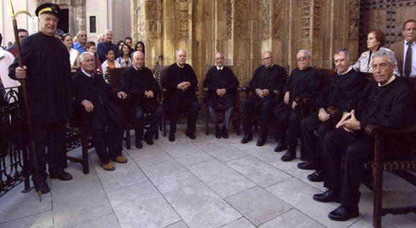 EL Tribunal de las aguas de la vega de Valencia