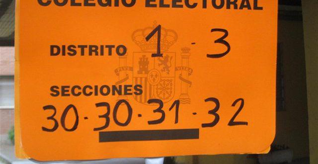 derecho al voto ley electoral